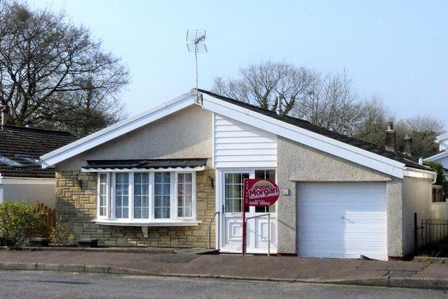 Thumbnail Detached bungalow for sale in Trenos Gardens, Llanharan, Pontyclun, Rhondda Cynon Taff.
