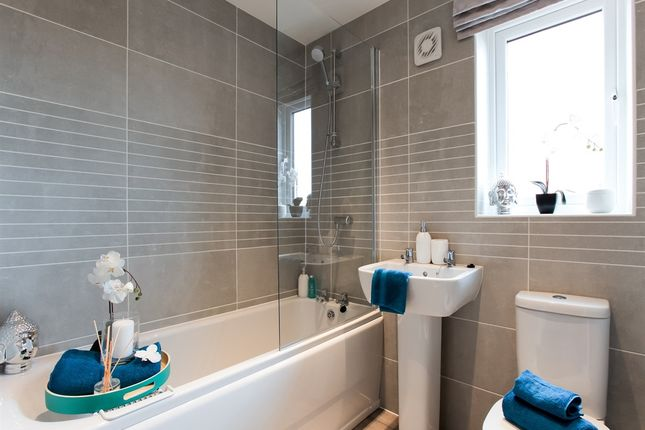 """Thumbnail Town house for sale in """"The Lumley"""" at Minchens Lane, Bramley, Tadley"""