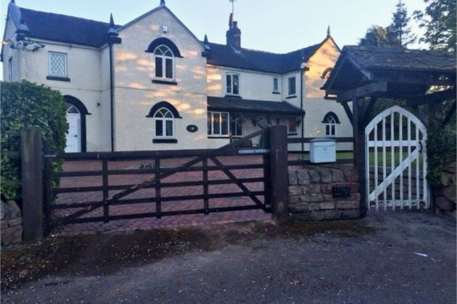 Thumbnail Detached house for sale in Leek Road, Wetley Rocks, Stoke-On-Trent, Staffordshire