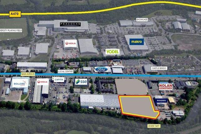 Thumbnail Land to let in G46, Main Avenue, Treforest Industrial Estate, Pontypridd CF37, Pontypridd,