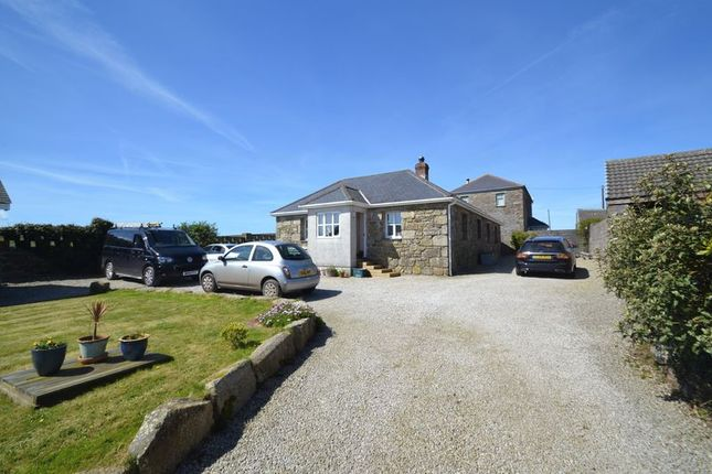 Thumbnail Detached bungalow for sale in Towednack, St. Ives