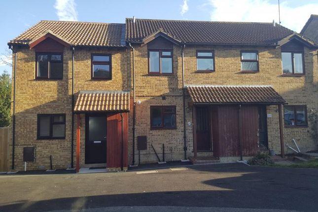Thumbnail End terrace house to rent in Bridger Way, Crowborough