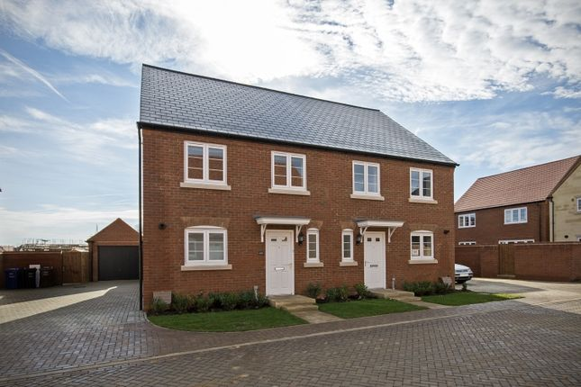 Thumbnail End terrace house to rent in Wetherby Road, Bicester