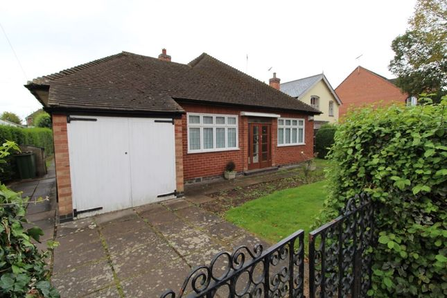 Thumbnail Bungalow for sale in Auburn Road, Blaby, Leicester