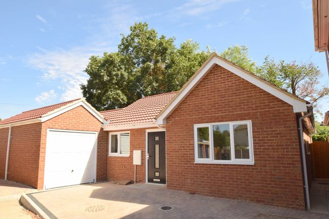 Thumbnail Detached bungalow for sale in Dash End, Kedington, Haverhill