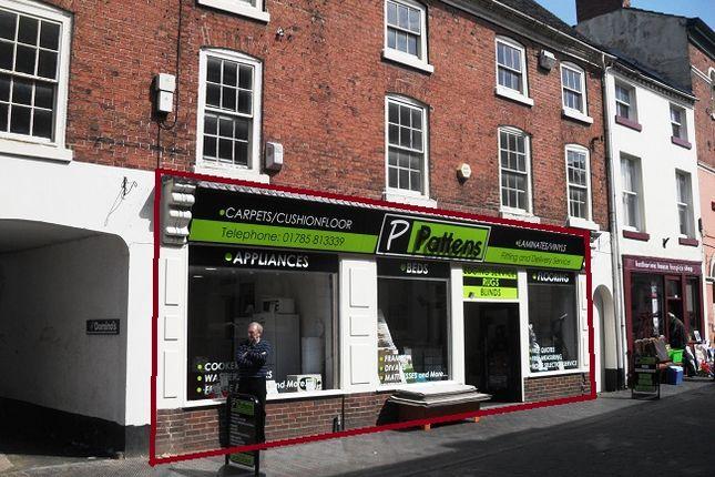 Thumbnail Retail premises to let in High Street, Stone