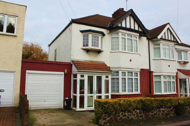 Thumbnail Semi-detached house for sale in Elmhurst Drive, South Woodford