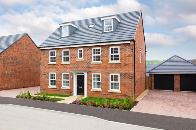 "Thumbnail Detached house for sale in ""Buckingham"" at Whites Lane, New Duston, Northampton"