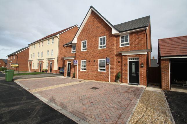 Thumbnail Semi-detached house to rent in Mallard Avenue, Malbank Water, Nantwich