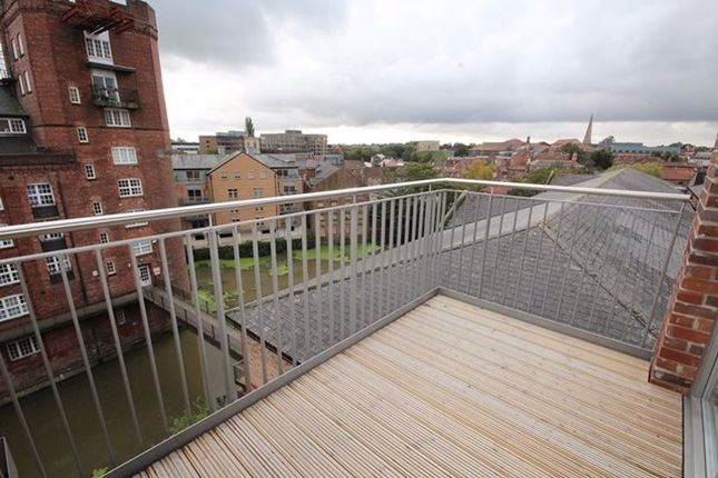 Thumbnail Flat to rent in Penthouse, Bellerby Court, Hungate, York Centre