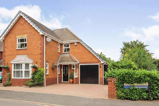 Thumbnail Detached house for sale in Dover Avenue, Berkeley Pendesham, Worcester