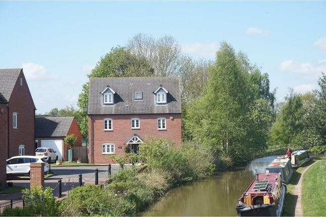 Thumbnail Detached house for sale in Swan Croft, Whittington, Lichfield