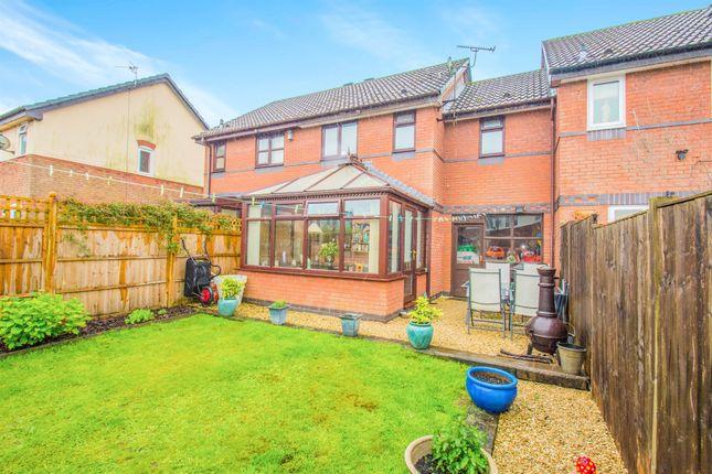 Thumbnail Terraced house for sale in Llwyn Onn, Tyla Garw, Pontyclun
