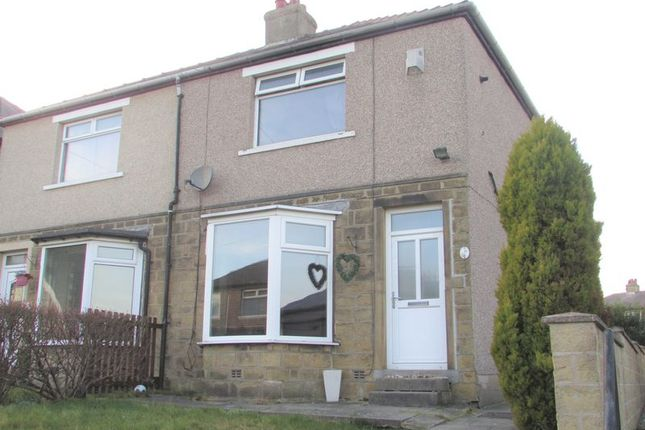 Thumbnail 2 bed semi-detached house for sale in Skelton Crescent, Crosland Moor, Huddersfield