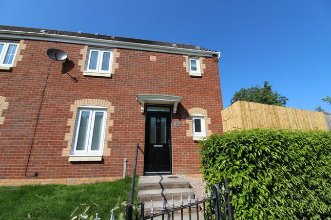 Thumbnail Semi-detached house for sale in Mill Court, Hafodyrynys, Crumlin