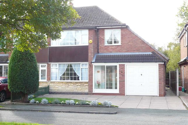 Thumbnail Semi-detached house for sale in Rocester Avenue, Wednesfield, Wednesfield