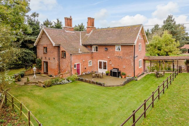 Thumbnail Farmhouse for sale in Suffolk, Willingham St Mary, Near Beccles Equestrian / Lifestyle