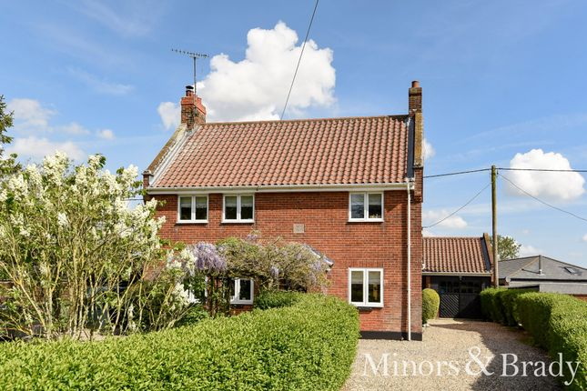 Thumbnail Detached house for sale in The Green, North Burlingham, Norwich