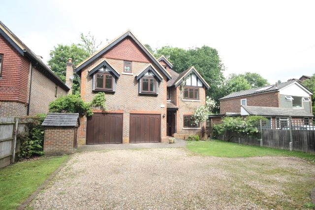 Thumbnail Detached house for sale in Blackbridge Road, Hook Heath, Woking