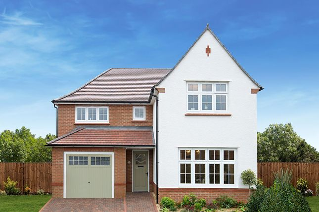 "Thumbnail Detached house for sale in ""Marlow"" at Ledsham Road, Little Sutton, Ellesmere Port"