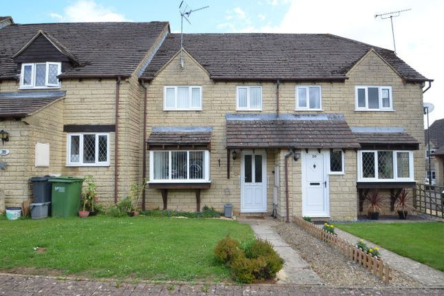 Thumbnail Terraced house for sale in Freame Close, Chalford, Stroud