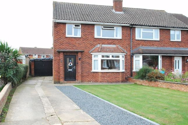 Thumbnail Semi-detached house for sale in Ogbourne Close, Longlevens, Gloucester