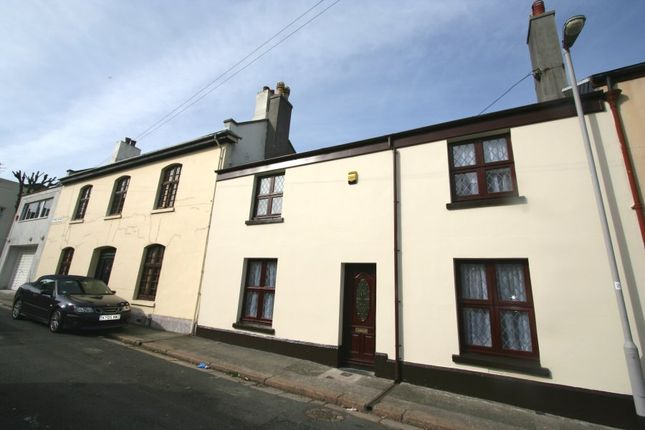 Thumbnail Terraced house to rent in York Place, Stoke, Plymouth