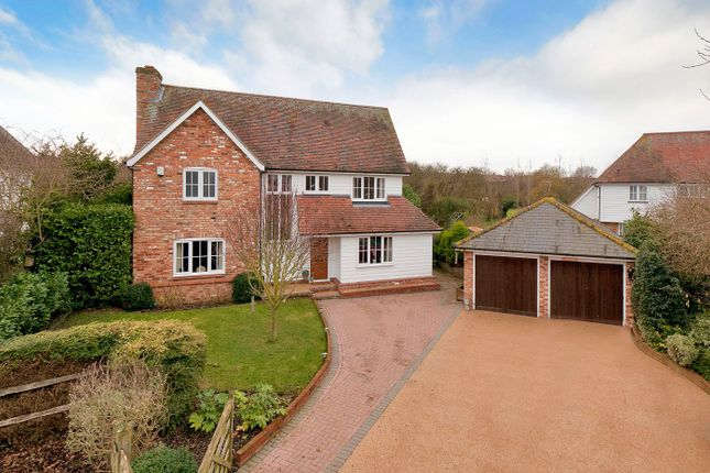 Thumbnail Detached house for sale in Little York Meadows, Lower Twydall Lane, Gillingham