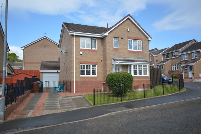 Thumbnail Detached house for sale in Perrays Drive, Dumbarton, West Dunbartonshire