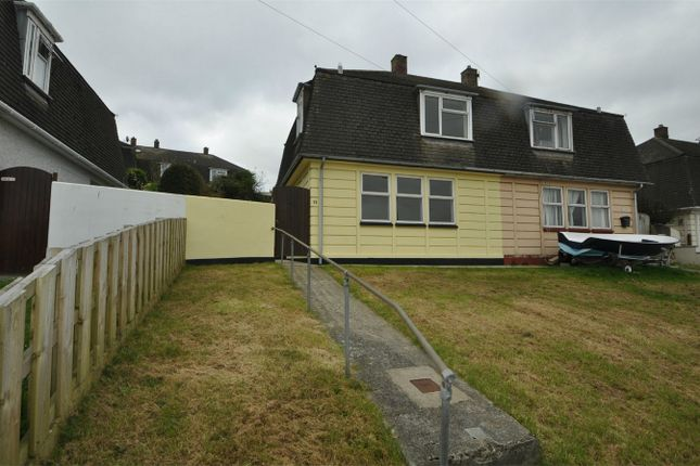 Thumbnail Semi-detached house to rent in Oakfield Road, Falmouth