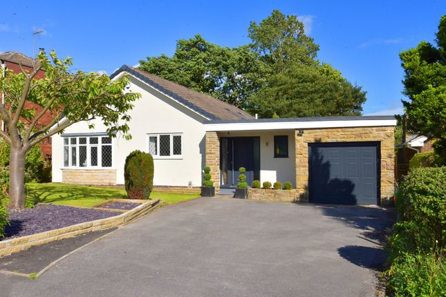 Thumbnail Detached bungalow for sale in Ashgarth Court, Harrogate