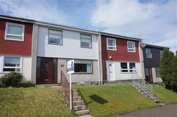 Thumbnail Terraced house to rent in Larch Drive, East Kilbride