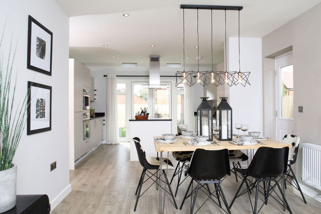 "Thumbnail Detached house for sale in ""The Berrington"" at Muggleton Road, Amesbury, Salisbury"