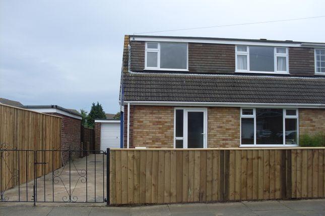 Thumbnail Semi-detached house to rent in Ashby Close, Grimsby
