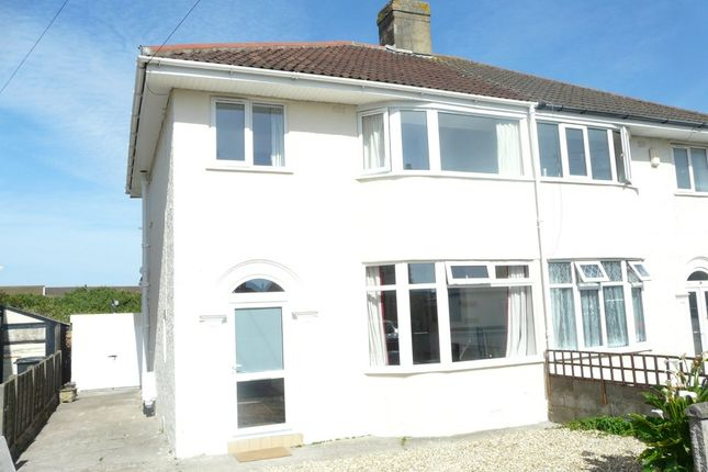 Thumbnail Semi-detached house for sale in Saville Road, Weston-Super-Mare