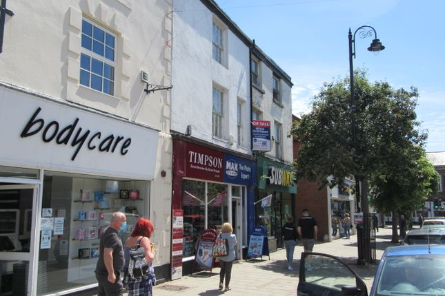 Thumbnail Retail premises for sale in 13 High Street, Mold