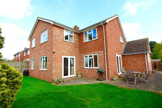 Thumbnail Detached house for sale in Huntham Close, Stoke-St-Gregory, Taunton, Somerset