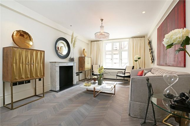 Thumbnail 1 bed flat for sale in Chesterfield House, South Audley Street, London