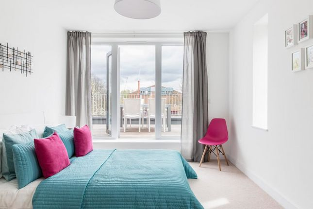 Thumbnail Flat for sale in Wells Mews At Aspire, Bowes Road, London