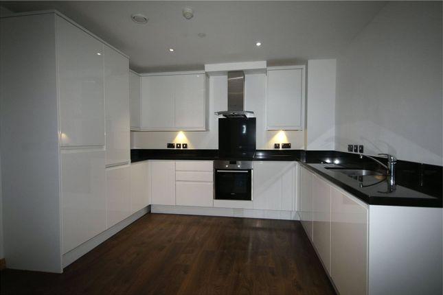 Thumbnail Flat to rent in Pinnacle Tower, Fulton Road, Wembley