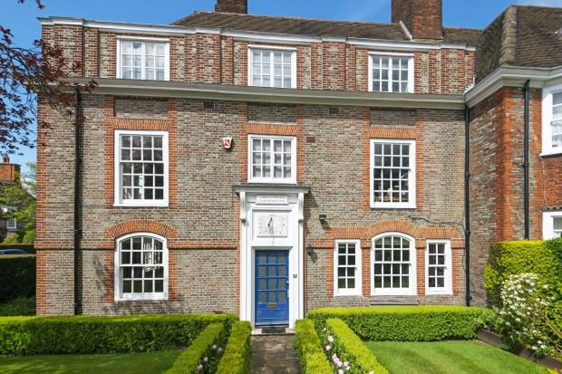 Thumbnail End terrace house for sale in North Square, Hampstead Garden Suburb, London