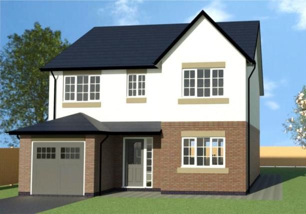 Thumbnail Detached house for sale in Summit View, Almond Way, Hope, Wrexham