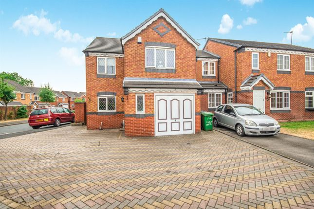 Thumbnail Detached house for sale in Conwy Close, Walsall