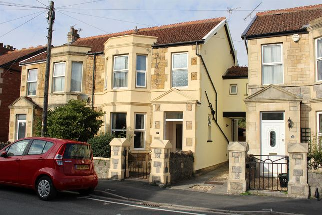 3 bed semi-detached house for sale in Sandford Road, Weston-Super-Mare BS23