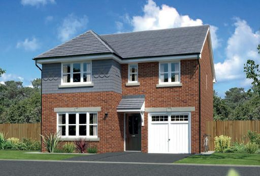 """Thumbnail Detached house for sale in """"Dukeswood"""" at Arrowe Park Road, Upton, Wirral"""