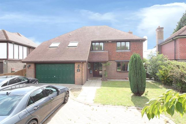 Thumbnail Detached house for sale in Ashford Road, Newingreen, Hythe