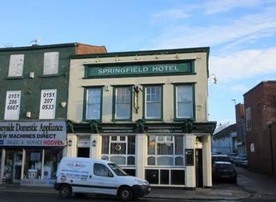 Thumbnail Pub/bar for sale in Springfield Hotel, 232 Walton Road, Walton, Merseyside