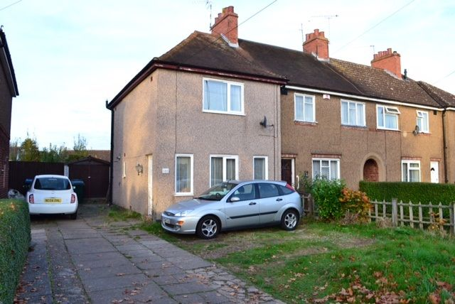 Thumbnail End terrace house to rent in Charter Avenue, Coventry