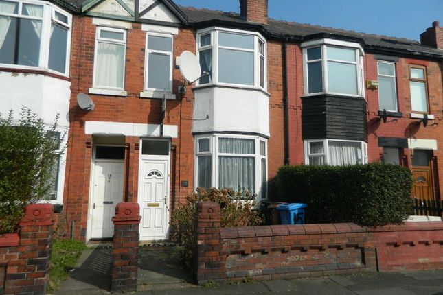 Thumbnail Terraced house to rent in Dorset Road, Levenshulme, Manchester.