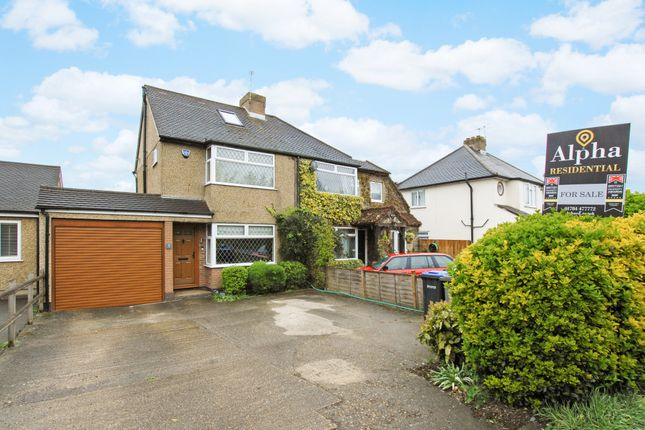 4 bed semi-detached house for sale in New Instruction...3 Warwick Villas, Egham, Surrey TW20